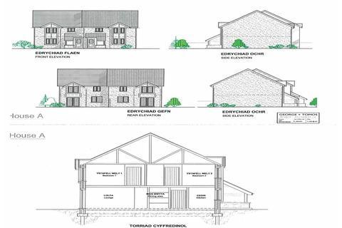 3 bedroom semi-detached house for sale - Plots 1 and 10, Y Wern, Rhydymain Dolgellau LL40 2AJ