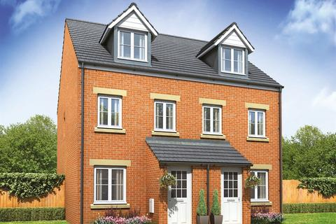 3 bedroom terraced house for sale - Plot 496, The Souter at Saltram Meadow, Charlbury Drive, Plymstock PL9
