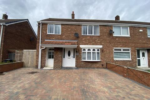 3 bedroom semi-detached house for sale - Boswell Avenue, Biddick Hall, South Shields, Tyne and Wear, NE34 9SS