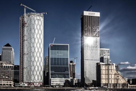 1 bedroom flat for sale - Landmark Tower, Marsh Wall, Canary Wharf, London, E14 9BT
