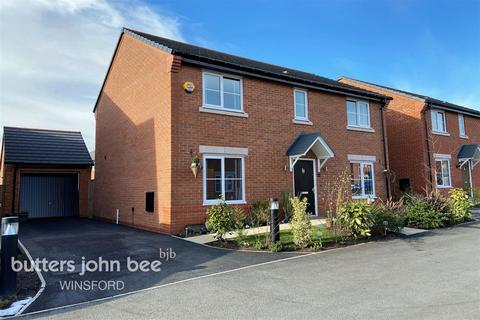4 bedroom detached house for sale - Curzon Court, Winsford