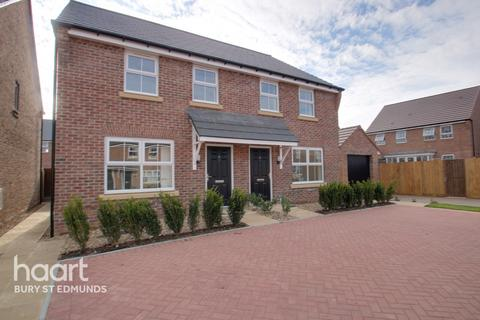 3 bedroom semi-detached house for sale - Wexford Way, Bury St Edmunds