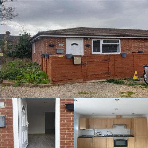 1 bedroom semi-detached bungalow to rent - Brantwood Road, Luton Beds LU1
