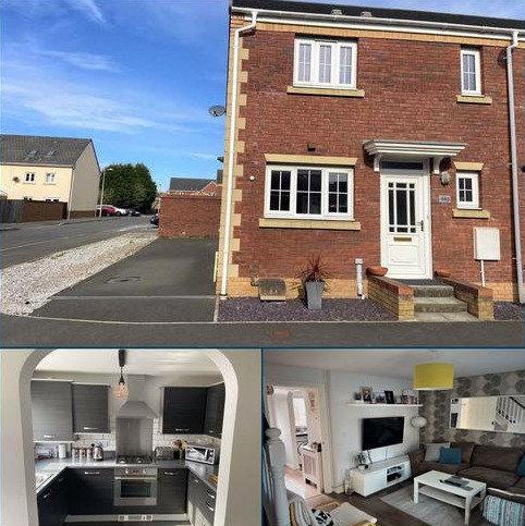 2 bedroom end of terrace house for sale - Moorland Green, Bryngwyn Village, Swansea