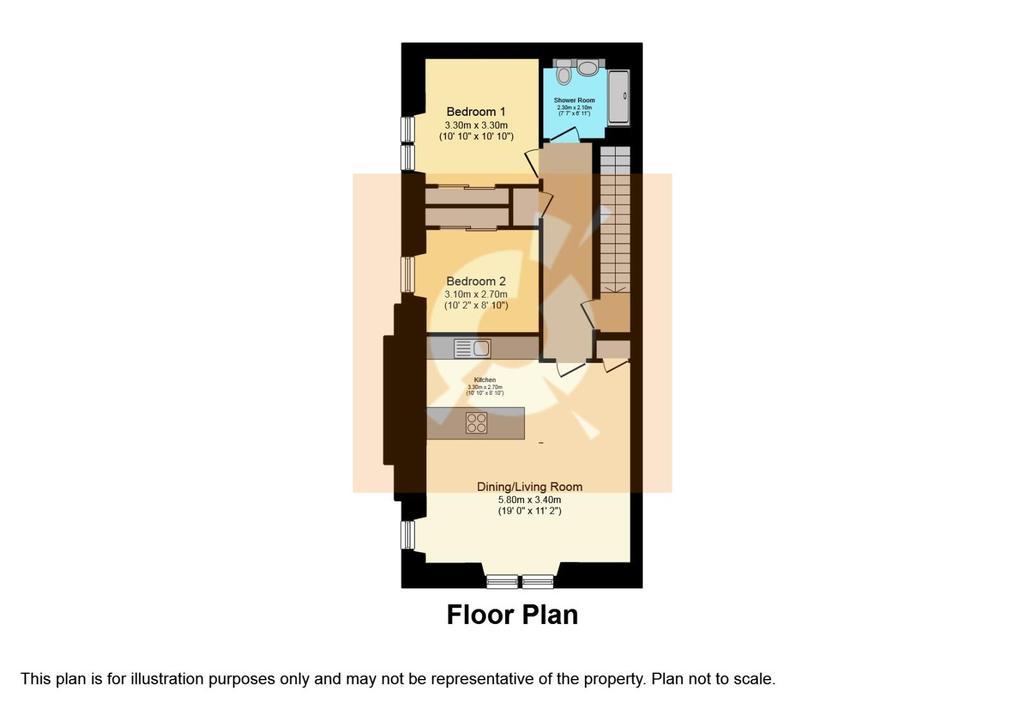 Floorplan: Apartment 7
