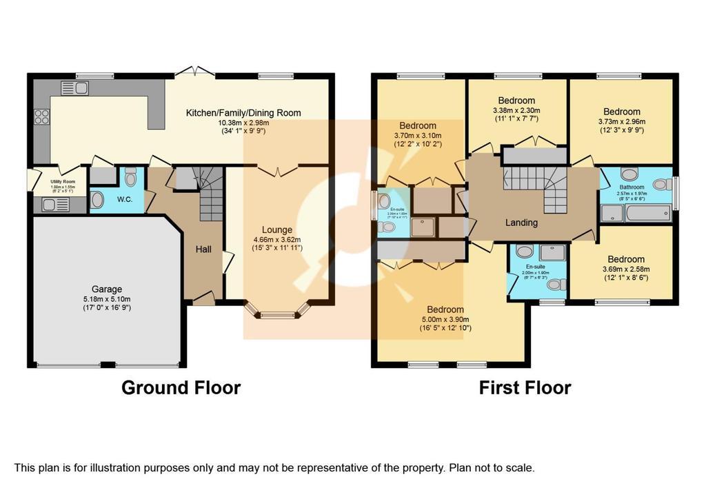 Floorplan: Floor Plan Ashludie Hospital Drive.JPG