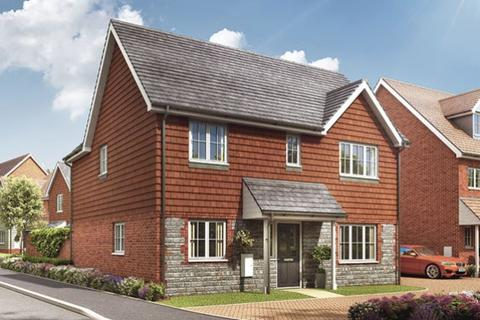 3 bedroom detached house for sale - Single Garage MARIGOLD at Forstal Mead, Forstal Lane, Coxheath ME17