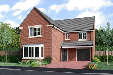 Miller Homes - Meadow Hill - Plot 14, The Austen  at Hemingway Court, Hemingway Court, Thornhill Road NE20