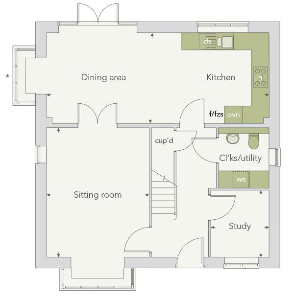 Plot The Canterbury 116 The Canterbury At Bramble Park Hurstpierpoint West Sussex Bn6 4 Bed Detached House 596 995