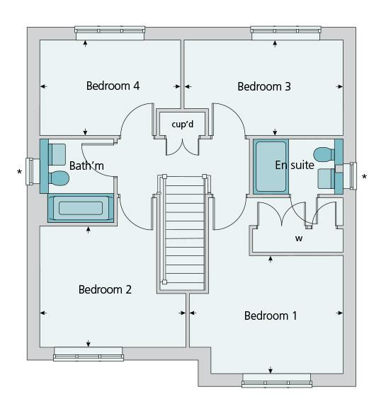 Floorplan 2 of 2: First floor plan