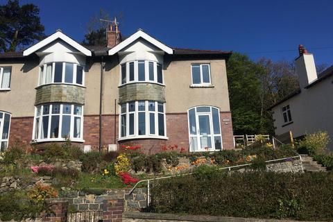 3 bedroom semi-detached house for sale - Upper Garth Road, Bangor, Gwynedd, LL57