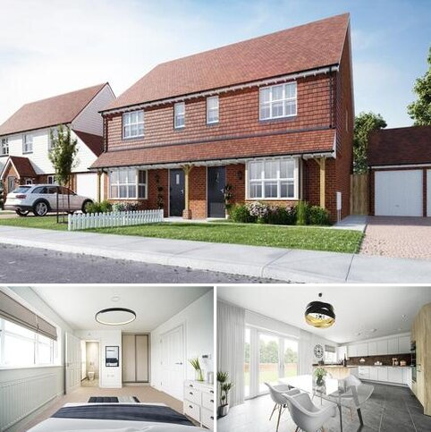 3 bedroom semi-detached house for sale - Plot 94, The Aragon at Millers Retreat, Station Road CT14