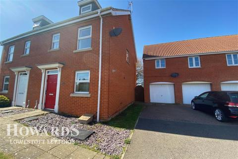 3 bedroom semi-detached house to rent - Holystone Way, Carlton Colville