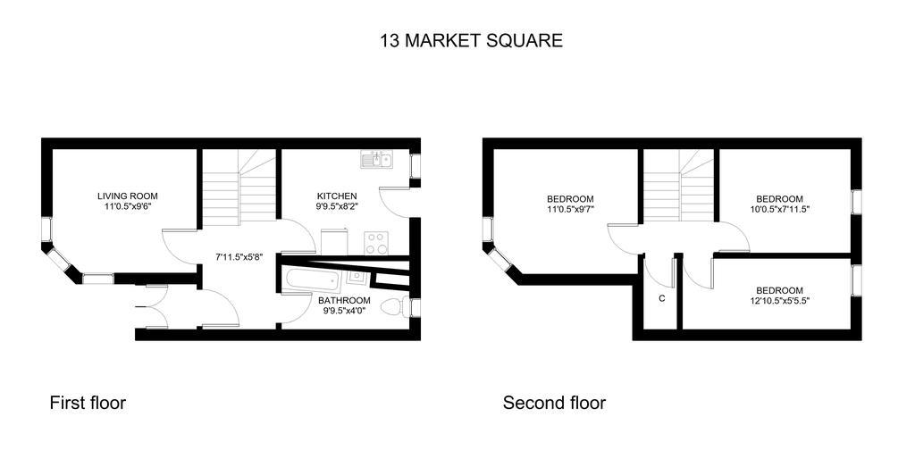 Floorplan: 13 Market Square...