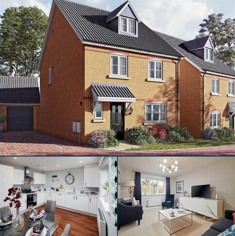 5 bedroom detached house for sale - Plot 26, The Ripley at Meridian Gate, Newmarket Road, Royston, Hertfordshire SG8