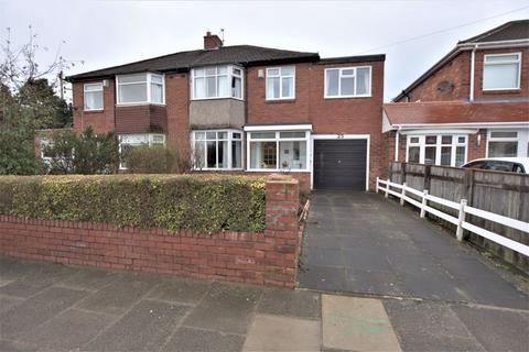 4 bedroom semi-detached house for sale - Stokesley Grove, High Heaton