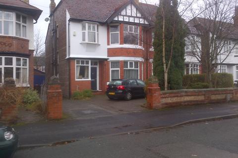 6 bedroom semi-detached house to rent - Sheringham Road, Manchester, M14 6WE