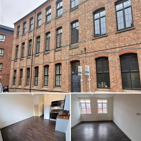 Studio to rent - Westside Apartments, Bede Street, Leicester