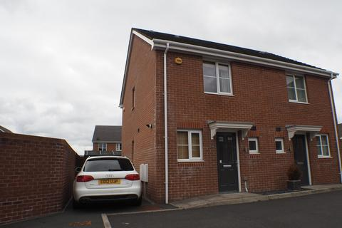 2 bedroom semi-detached house to rent - Charlotte Court, Townhill, Swansea, SA1 6RF