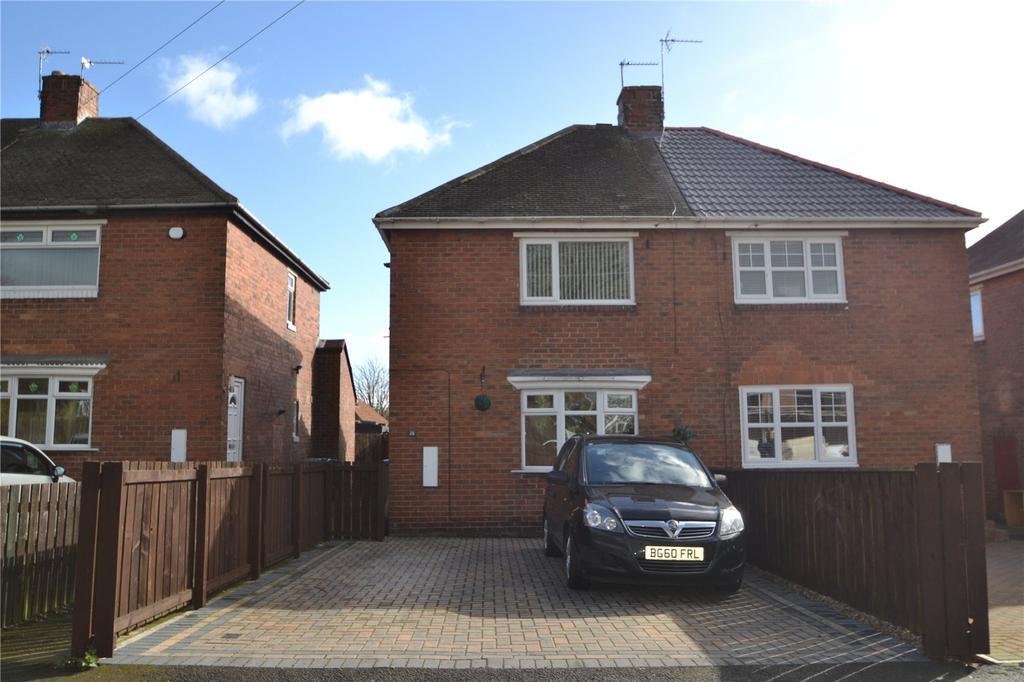2 Bedrooms Semi Detached House for sale in Laburnum Crescent, Easington Village, County Durham, SR8