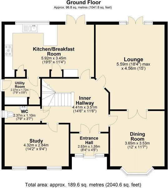 Floorplan 1 of 2: Imovehome House Floor Plan