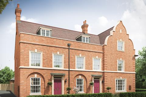 3 bedroom terraced house for sale - The Thornton at Earl's Walk, New Lubbesthorpe