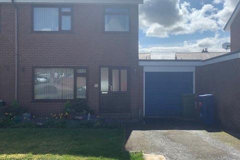 3 bedroom semi-detached house for sale - Ffordd Eryri, Caernarfon, Gwynedd, LL55