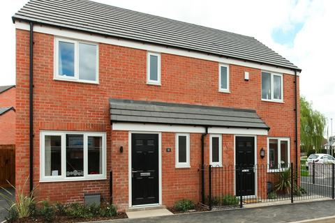 3 bedroom semi-detached house for sale - Plot 142, The Hanbury at Lime Tree Court, Mansfield Road DE21