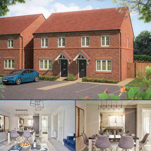 3 bedroom semi-detached house for sale - Plot The Magnolia 049, The Magnolia at Pear Tree Meadows, Pear Tree Meadows, Queen's Drive, Cheshire CW5