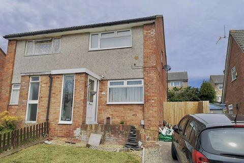 2 bedroom semi-detached house for sale - Goodwick Close, Barry