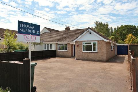 3 bedroom semi-detached bungalow to rent - Blackthorn Road, Launton