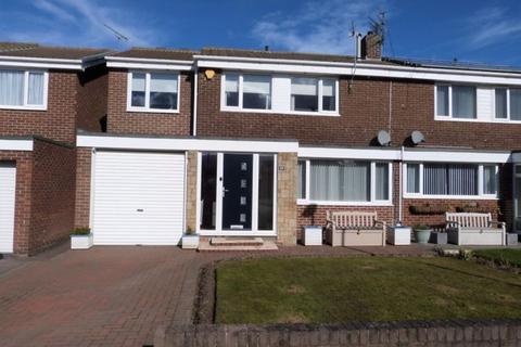 3 bedroom semi-detached house for sale - Lyndhurst Road, Ashington, Three Bedroom Semi Detached House