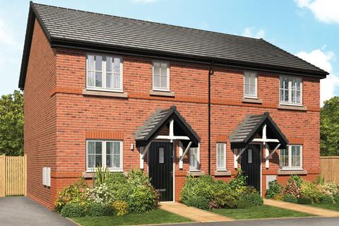 3 bedroom semi-detached house for sale - Plot 107, The Woodrush at Hall Drive Park, Hall Drive, Alsager ST7