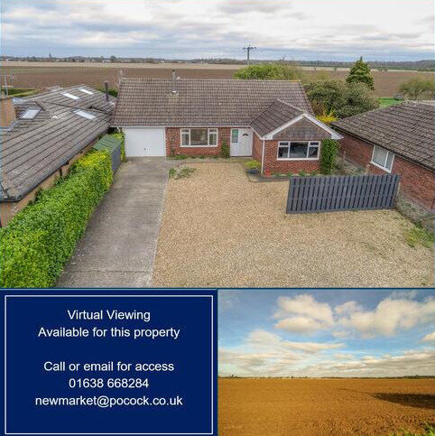 3 bedroom detached bungalow to rent - Northfields, Lode