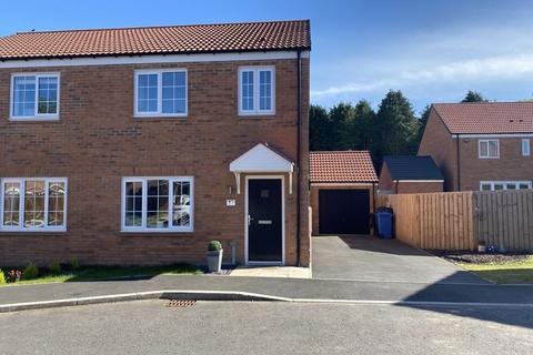 3 bedroom semi-detached house for sale - Elden Grove, Morpeth