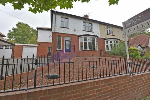 4 bedroom semi-detached house to rent - Lyndhurst Grove, Low Fell