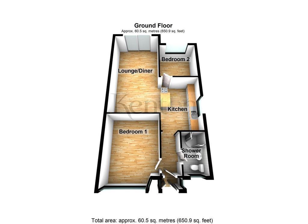 Floorplan 1 of 2: Floor Plan 2