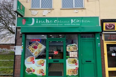 Takeaway for sale - Long Leasehold Takeaway Located In Coventry