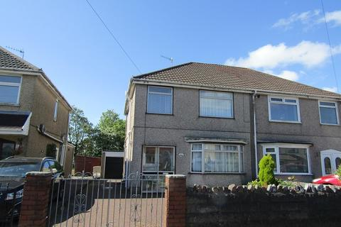 3 bedroom semi-detached house for sale - Graiglwyd Road, Cockett, Swansea, City And County of Swansea.