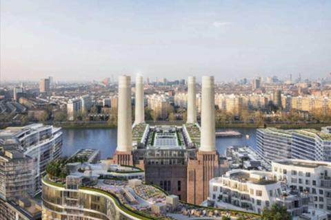 2 bedroom apartment for sale - Battersea Power Station, Kirtling Street, Nine Elms, London SW8 5BN