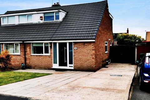 3 bedroom bungalow for sale - Browmere Drive, Croft, Warrington, Cheshire, WA3 7HS