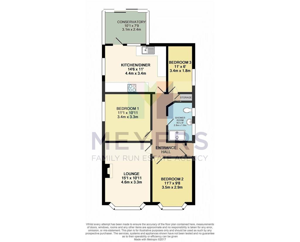 Floorplan 1 of 3: Colour Floorplan