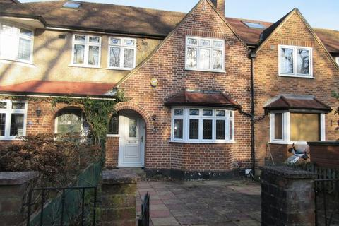 3 bedroom terraced house for sale - MORDEN/MERTON PARK BORDERS - LOVELY FAMILY HOUSE WITH POTENTIAL IN QUIET CUL-DE-SAC