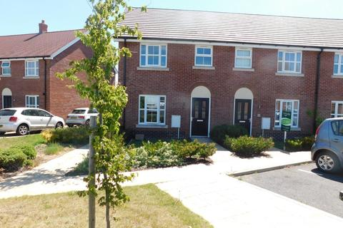 3 bedroom end of terrace house for sale - Binyon Close, Stowmarket