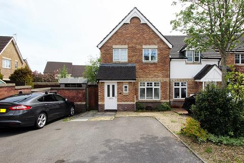 3 bedroom semi-detached house for sale - Tudor Mews, Miskin, Pontyclun, Rhondda, Cynon, Taff. CF72 8SL