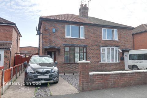2 bedroom semi-detached house for sale - Hallshaw Avenue, Crewe