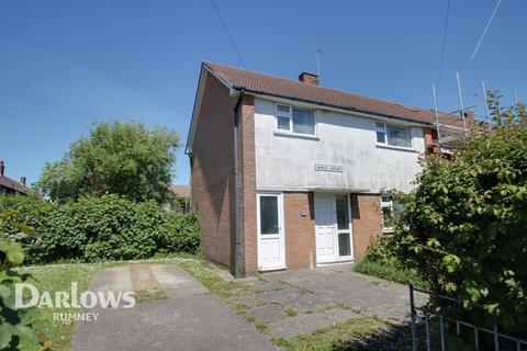 3 bedroom end of terrace house for sale - Worle Avenue, Cardiff