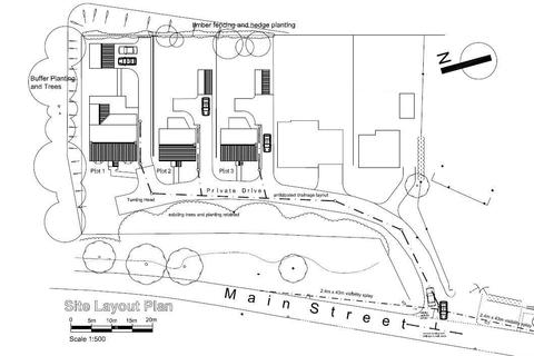 Plot for sale - Main Street, Alne, York