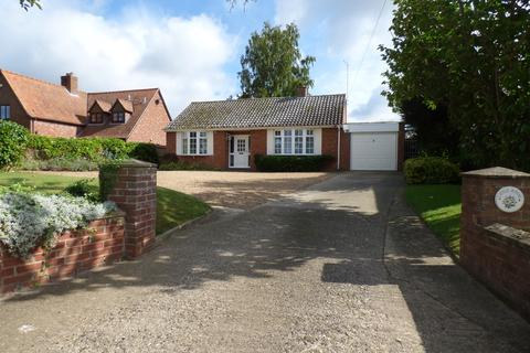 2 bedroom detached bungalow to rent - Higham Road, Tuddenham
