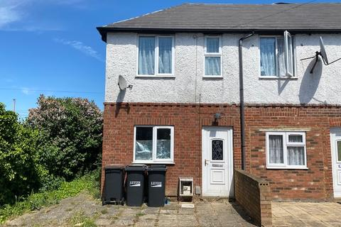 2 bedroom end of terrace house to rent - Selbourne Road, luton LU4